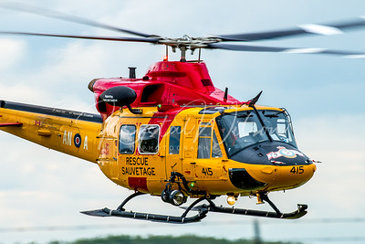 RCAF CH-146 Griffon Assigned To 417 Sqn During Maple Flag At Cold Lake 2017