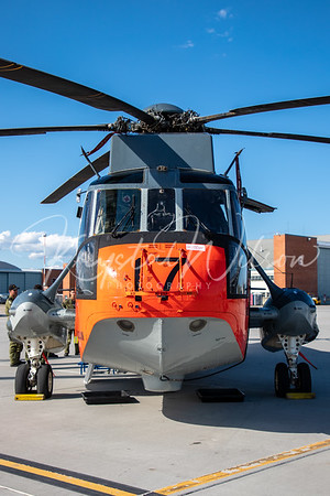 RCAF CH-149 Sea King Assigned To 443 Sqn At Cold Lake Air Show 2018