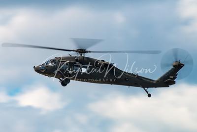 US Army UH-60 Blackhawk At CFB Cold Lake 2016