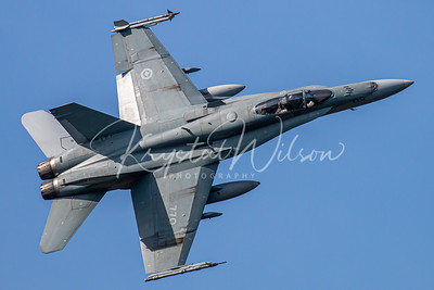 RCAF CF-18 Hornet Assigned To 409 'Nighthawks' Sqn At CFB Comox 2018