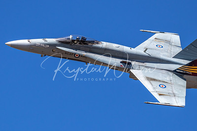 RCAF CF-18 Demo Hornet At Cold Lake 2019