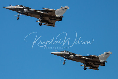 Two Aéronavale (French Naval Aviation) Rafale Ms At RIAT 2018
