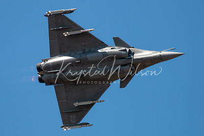 Aéronavale (French Naval Aviation) Rafale M At RIAT 2018