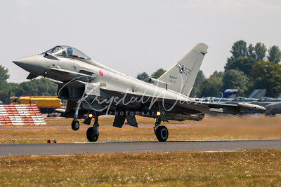 AMI F-2000A Typhoon Assigned To 311 Gruppo/RSV At RIAT 2018