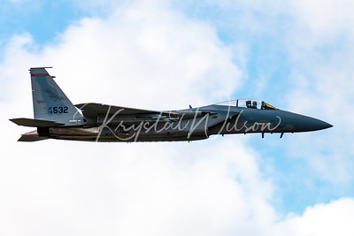 Oregon ANG F-15 Eagle Assigned To 142nd FW At Cold Lake Air Show 2018