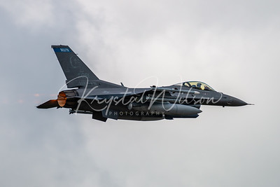 Minnesota ANG F-16 Viper Assigned To 148th FW At Cold Lake Air Show 2018