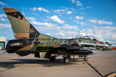 Alaska PACAF F-16 Aggressor Assigned To 354th FW At Cold Lake Air Show 2018