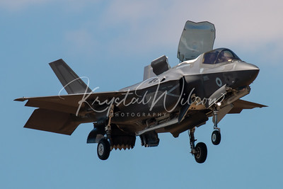 RAF F-35 Lightning II At RIAT 2018