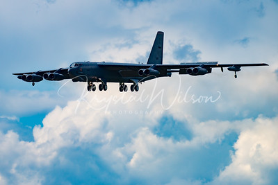 AFRC B-52 Stratofortress Assigned To 93rd BS At Cold Lake Air Show 2016