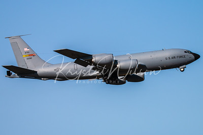 March ARB KC-135 Stratotanker Assigned To 452nd AMW At Cold Lake Air Show 2018