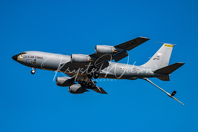 Pennsylvania ANG KC-135 Stratotanker Assigned To 171st ARW At Airshow London 2017