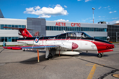 RCAF CT-114 Tutor Assigned To AETE Sqn At Cold Lake Air Show 2018