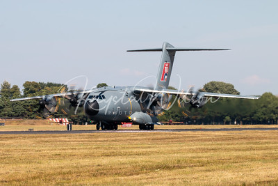 Airbus A400M Atlas Assigned To Airbus Defense and Space At RIAT 2018