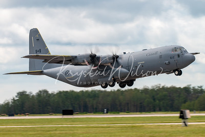 RCAF CC-130J Hercules Assigned To 436 Sqn At Cold Lake Air Show 2018