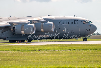 RCAF CC-177 Globemaster III Assigned To 429 Sqn At Cold Lake Air Show 2018