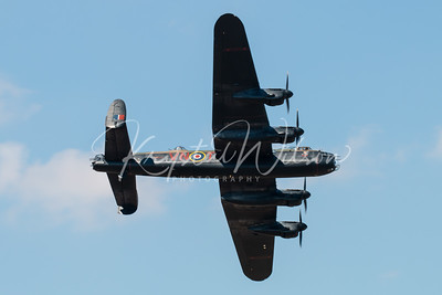 Avro Lancaster From RAF BBMF At RIAT 2018