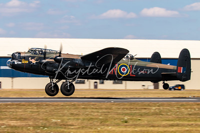 Avro Lancaster From RAF BBMF At RIAT 2018