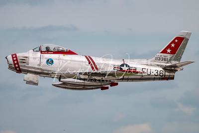 F-86 Sabre At Airshow London 2018