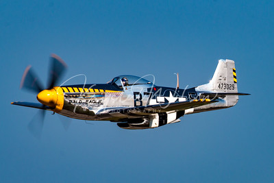 P-51 Mustang From Air Force Heritage Flight Foundation At Airshow London 2017