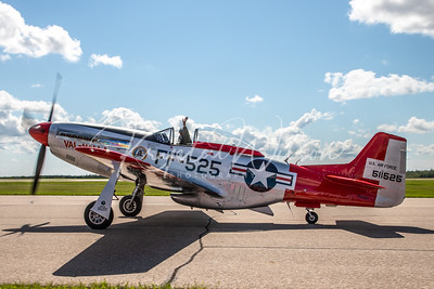 P-51 Mustang From Air Force Heritage Flight Foundation At Cold Lake Air Show 2018