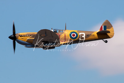 Supermarine Spitfire From Battle Of Britain Memorial Flight At RIAT 2018