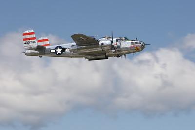 """B-25 Mitchell """"Panchito"""" WW II Bomber  (Sandy Tambone www.sandytambone.com)"""