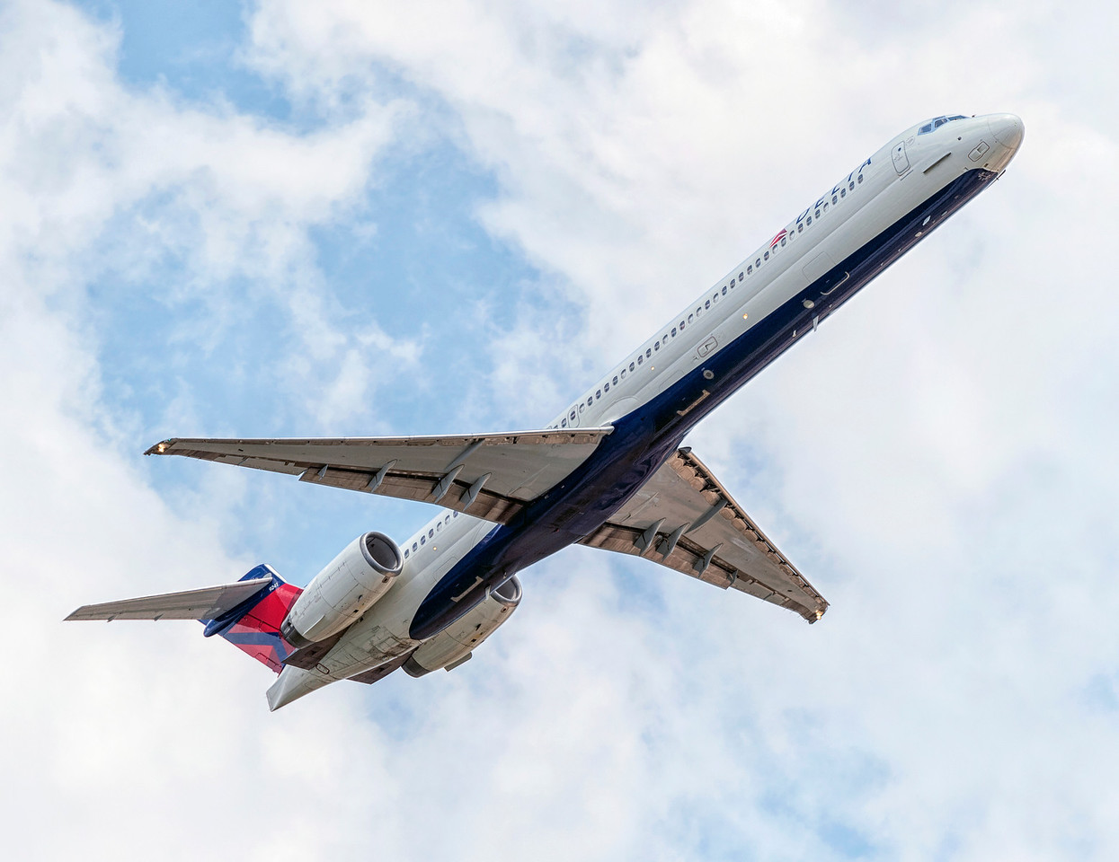 Delta Airlines MD-90-30