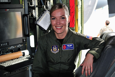 An Air Force Reserve Weather Officer.