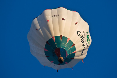 Gatineau Hot Air Balloon Festival, Gatineau Que. and Ottawa Ont. 08.08.29-08.09.01