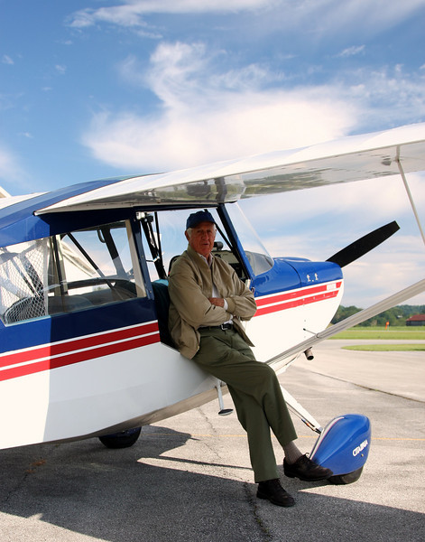 My friend and pilot for all of my aerial photography jaunts to date - Cliff.