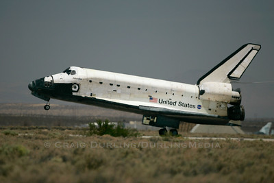 Space Shuttle Atlantis Landing / STS-117