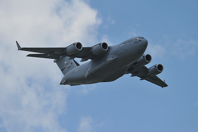 New York Air National Guard C-17 GlobeMaster III Demo