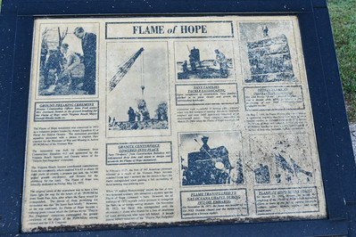 Oceana Flame of Hope Memorial