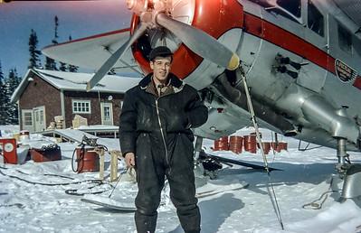 Base de Senneterre hiver 1951 Norseman