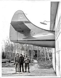 CF-ODH au Hangar de Senneterre
