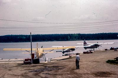 CF-ODH à la base du Lac Caché