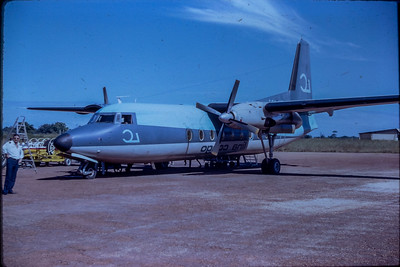 Fokker F50 au Congo