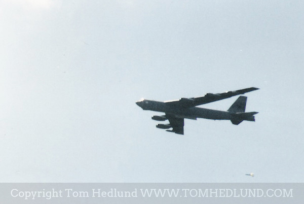 Scanned image B52 dropping a high drag