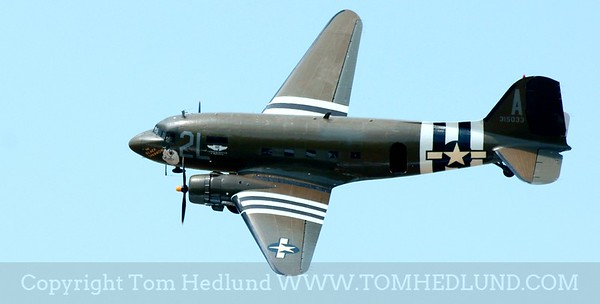 C-47 fly by