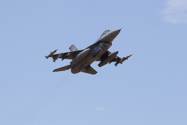 F-16 Fly Over 8-18-10