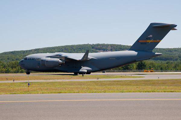 C-17A Globemaster III Arrival 8/20/10
