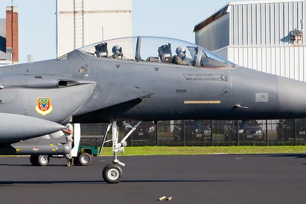 F-15E Strike Eagle Arrival 8/20/10