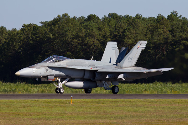 CF-18A Hornet, Canadian Air Force Arrival 8-20-10