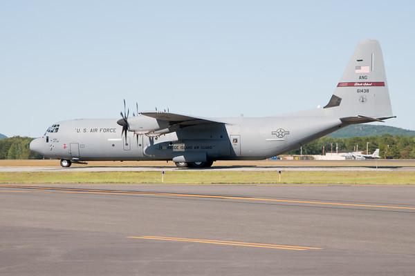 C-130J Hercules, RI ANG Arrival 8/20/10