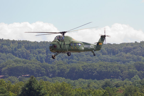 Sikorsky UH-34D Seahorse Arrival 8/20/10