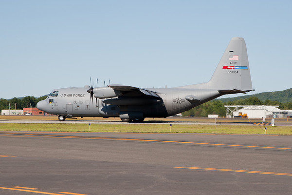 C-130H Hercules, Air Force Reserve Command Arrival 8/20/10