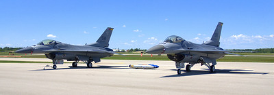Viper East Demo Team.  Waterloo Airshow 2011.
