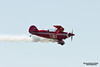 SANTA ROSA, CA - AUG 21: Tim Decker flies on his Pitts S-2B during the Wings Over Wine Country Air Show, on August 21, 2011, Charles M. Schulz - Sonoma County Airport, Santa Rosa, CA.