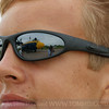 Fat Alberts reflection in Sam's sunglasses