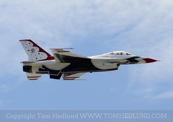 Thunderbirds # 5 practicing on Friday.